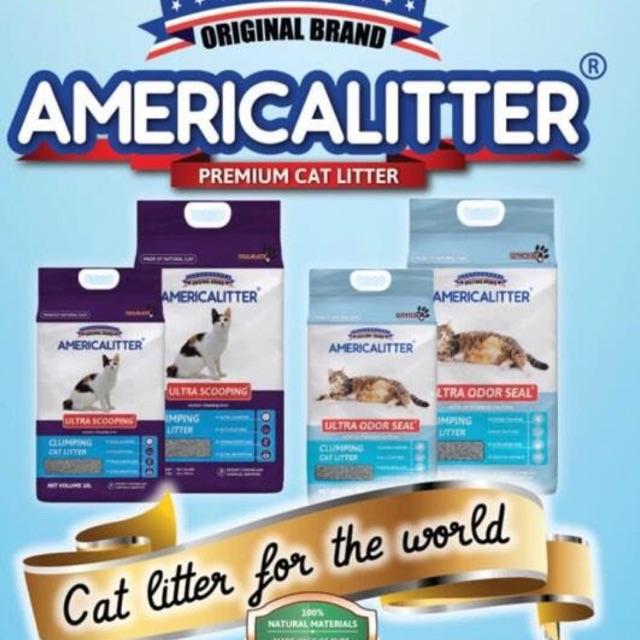 Cát siêu vón, siêu khử mùi Americal Litter