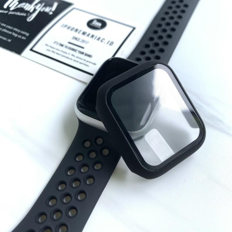 Ốp Kính Cường Lực Bảo Vệ Mặt Đồng Hồ Thông Minh Apple Watch Iwatch Series 1 2 3 4 5 6 Se 38mm 42mm 40mm 44mm