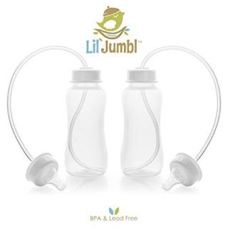 Bình sữa rảnh tay lil'jumbl 300ml