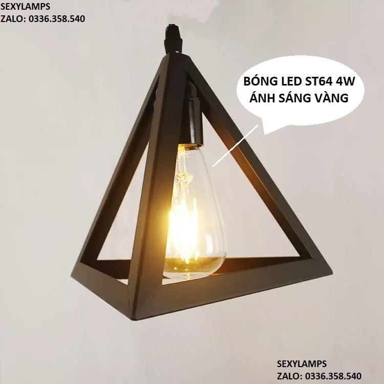 Đèn trần kim tự tháp