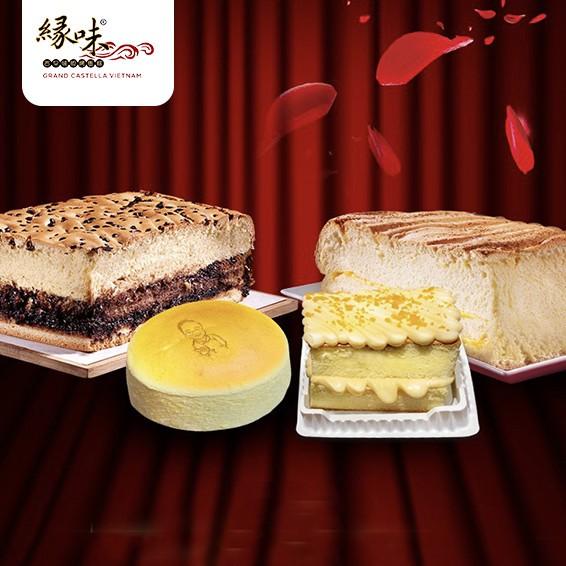 E-Voucher 160.000 mua bánh bông lan bất kì tại Grand Castella