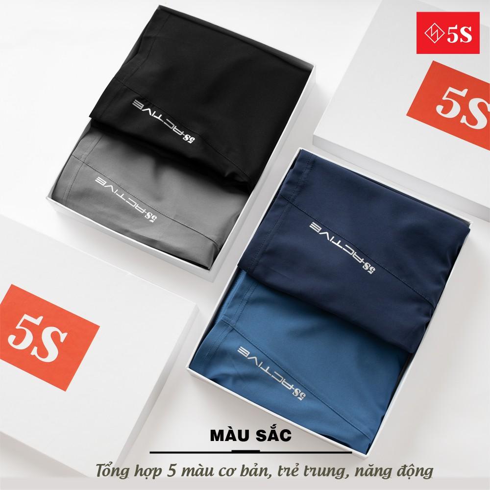 Quần Short Gió Nam 5S (5 màu) Vải Mềm, Siêu Nhẹ, Dáng Thể Thao (QSG002S1-01)