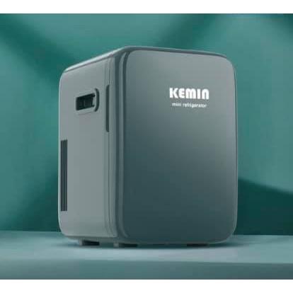 Tủ lạnh mini đựng mỹ phẩm, thuốc có ổ cắm oto chính hãng Kemin 10L
