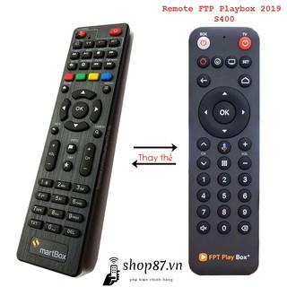 Remote thay thế điều khiển FPT Playbox 2019 S400
