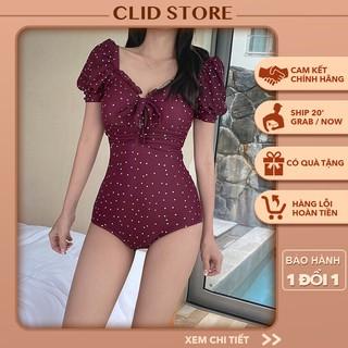 [CÓ SẴN] Bikini 1 mảnh - Đồ bơi nữ che khuyết điểm vai kín đáo hàng Quảng Châu chất đẹp 2555 thumbnail