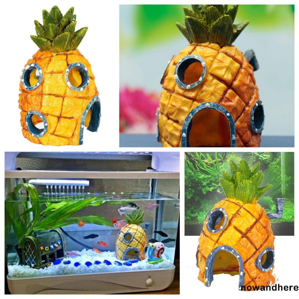 .AR-Hot Sell New Fashion Pineapple House Aquarium Aquarium Decoration