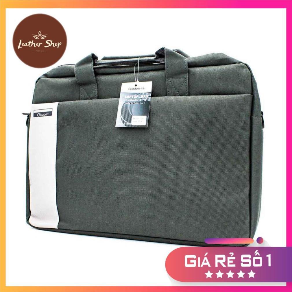 Túi chống sốc, Cặp chống nước 15.6inch cho laptop, macbook LEOTIVA T57 - Túi đựng laptop thời trang