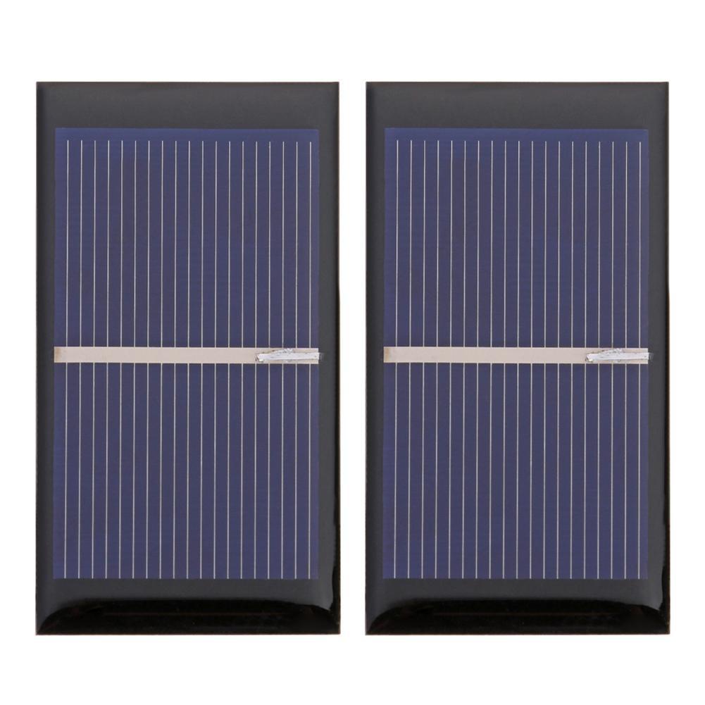 WAl 0.5V 0.3W 600mA Solar Cell Module Polycrystalline Solar Panel DIY Charger