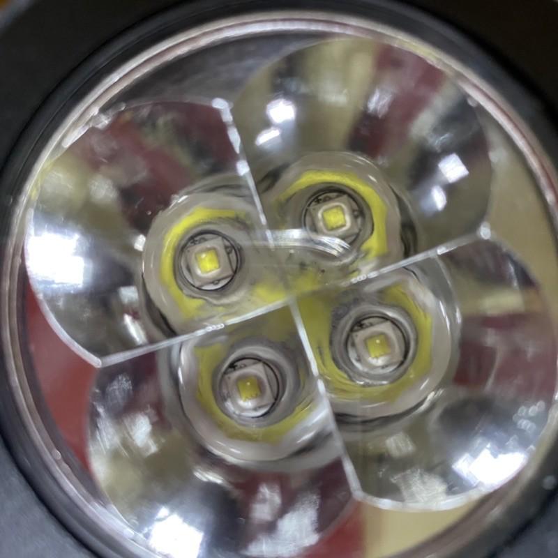 [TẶNG 4 PHỤ KIỆN] 1 Đèn trợ sáng L4X giá rẻ cực sáng lắp xe máy xe điện - Đèn xe Việt