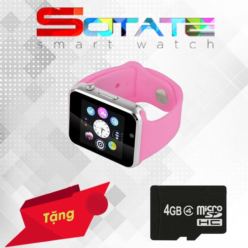 [Sale 50%] Đồng Hồ Điện thoại SA01 màu Hồng + Thẻ Nhớ 4Gb