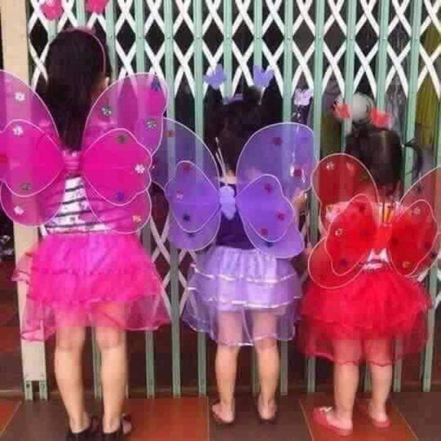Cánh bướm trung thu cho bé gái