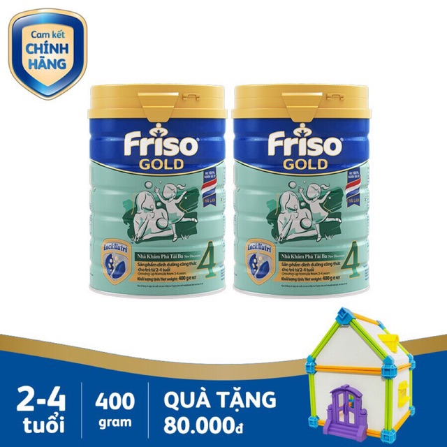 Sữa bột Friso Gold 4 (900g)