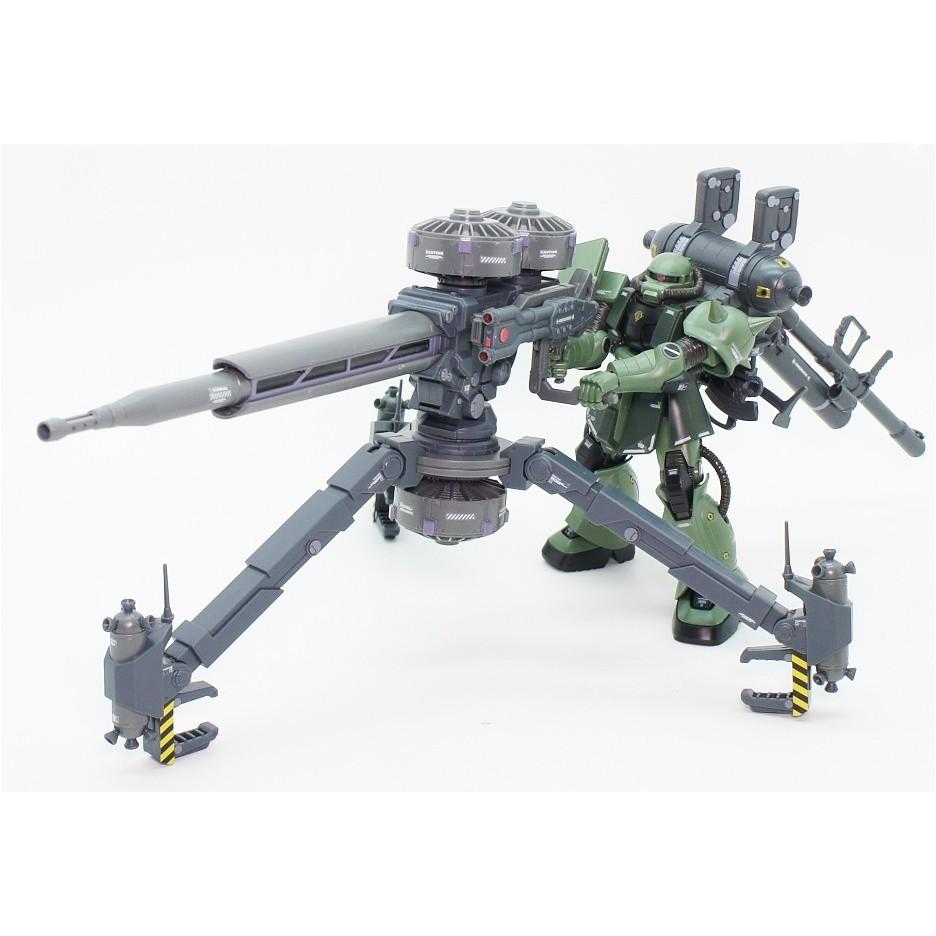 Mô Hình Lắp Ráp Bandai HG TB Zaku II + Big Gun