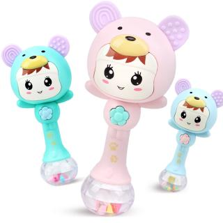 Baby Shaker Sand Hammer Toy Dynamic Rhythm Stick Baby Rattles Kids Musical Party Musical Instrument Toys