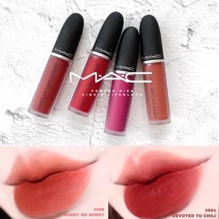 [GIÁ SỈ] Son Kem Lì MAC Powder Kiss Liquid Lipcolour, Son Mac Kem Có Bill thumbnail