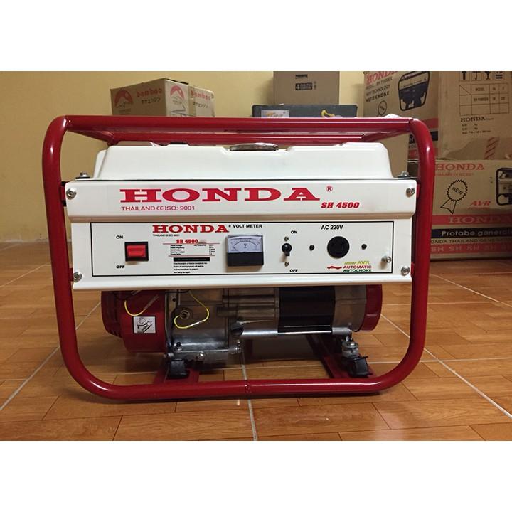 Máy phát điện Honda SH 4500C AVR (3 kw; xăng)