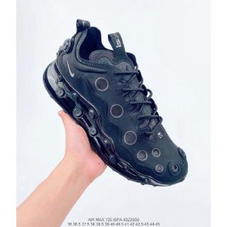 [nguyên bản] Giày Nike Air Max 720 ISPA mới Undercover Giày chạy bộ High Rebound Light Sneakers Đen 03 Kích thước: 36-45