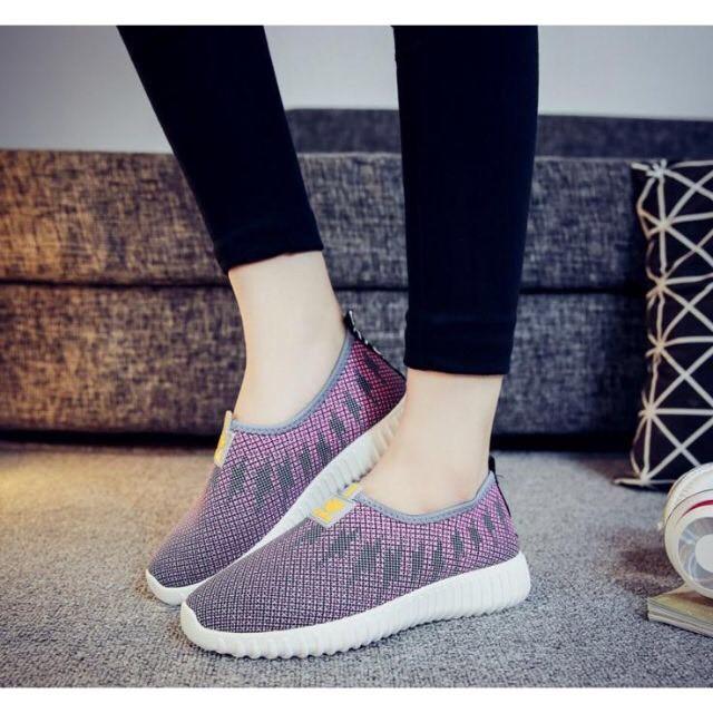 Giày Tím Mộng Mơ, Xanh Nhẹ Nhàng Tôn Dáng Cho Nàng