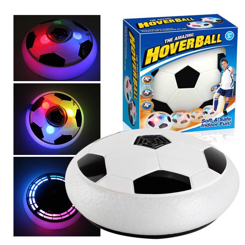 Bóng đá điện tử trong nhà dành cho bé, đồ chơi bóng đá điện tử có đèn, cơ chế hoạt động thông minh và đàn hồi, tránh hư