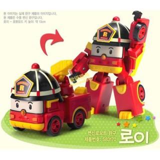 Firefighting Robocar Poli Transformation Toys South Korea Thomas Kid