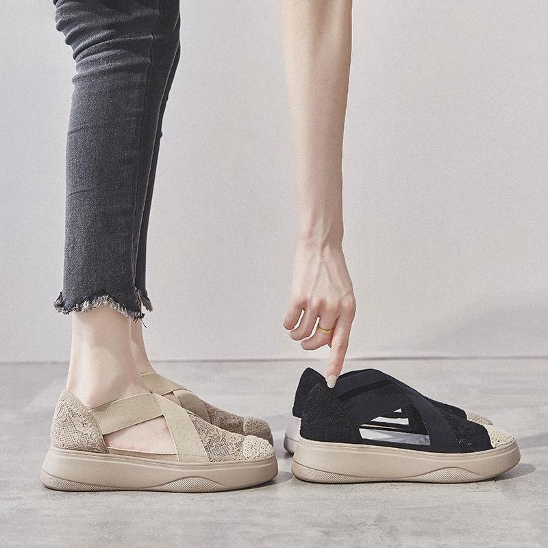 Giày sandal phong cách Hàn Quốc năng động trẻ trung dành cho nữ