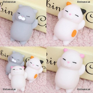 AYC Super Slow Soft Rising Squishy Squeeze Cute Cat Expression Smile Face Toy kawaii