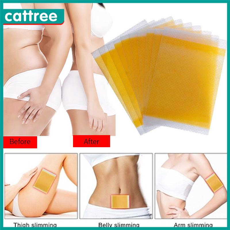 Magnetic 10pcs Slim Patches Slimming Fat Belly Loss Weight Fitness Health