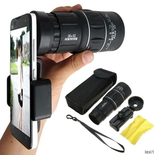 Ready Stock Universal Optical Telescope Camera Clip-on Mobile Phone Camera Zoom Lens Kits UK LE