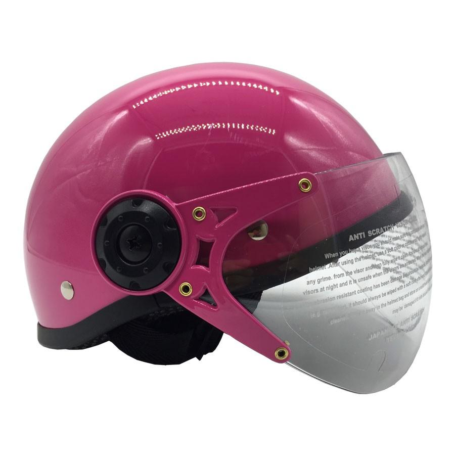 Mũ bảo hiểm trẻ em 1/2 đầu có kính Chita CT27(K), họa tiết công chúa dễ thương
