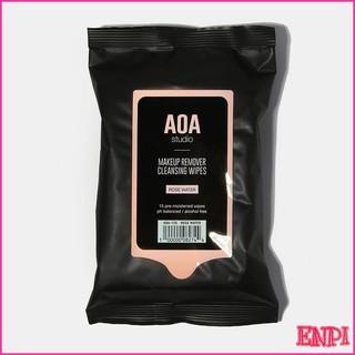 Khăn tẩy trang AOA Makeup Remover Wipes thumbnail