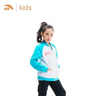 Áo khoác gió 2 mặt bé gái Anta Kids 362017615-4 thumbnail
