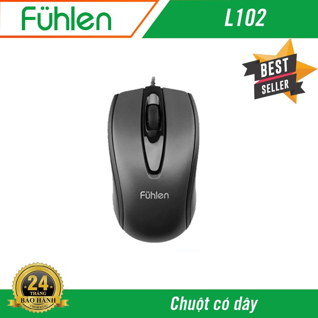 Chuột có dây Fuhlen L102 - Hàng chính hãng bảo hành 2 năm