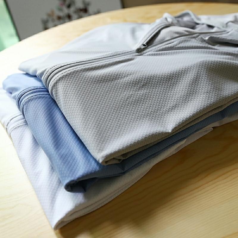 [Hình thật] Áo chống nắng thông hơi che mặt túi khoá hàng VNXK