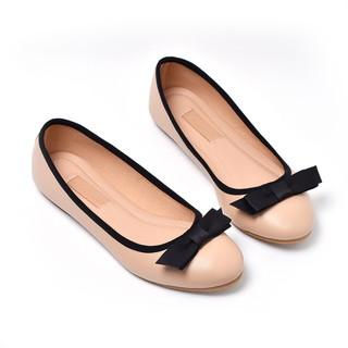 Giày búp bê đính nơ Merly 1286