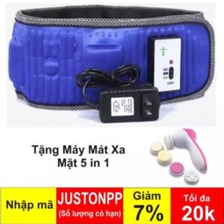 Máy masage đánh tan mở bụng giảm béo x5 hàng nhập khẩu + tặng máy massage rửa mặt 5in 1 + sữa rửa mặt + kem dưỡng da thumbnail