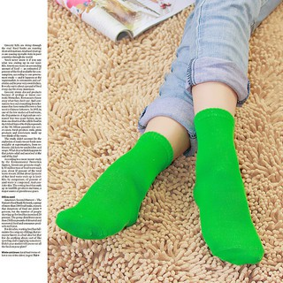 Women Girls Candy Colored Cute Socks Middle Tude SocksGood ranchotion