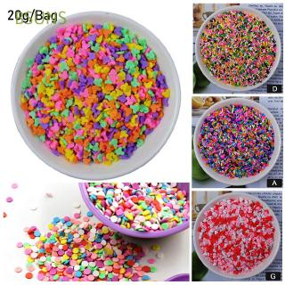 BSUNS 20g/Bag 24 Styles Candy Color Charms DIY Tools Cake Dessert Kit Addition Mud Filler