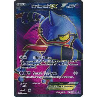 TCG Flashfire Toxicroak EX FA