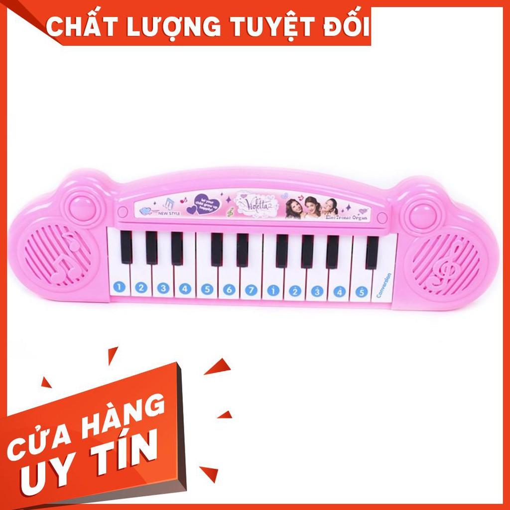 [ GIAO NHANH ] Đàn Piano Màu Hồng Cho Bé Gái [K-DPAN]