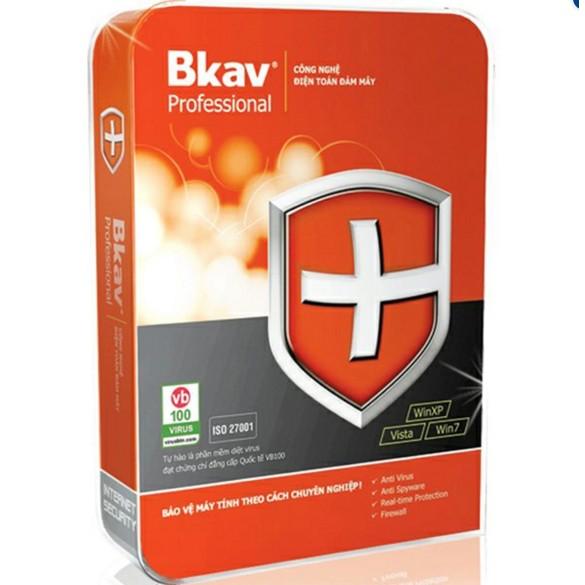 Phần mềm diệt virus Bkav pro 1máy/1 năm sử dụng