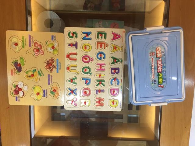 thanh lý 3 bộ đồ chơi hàng việt nam
