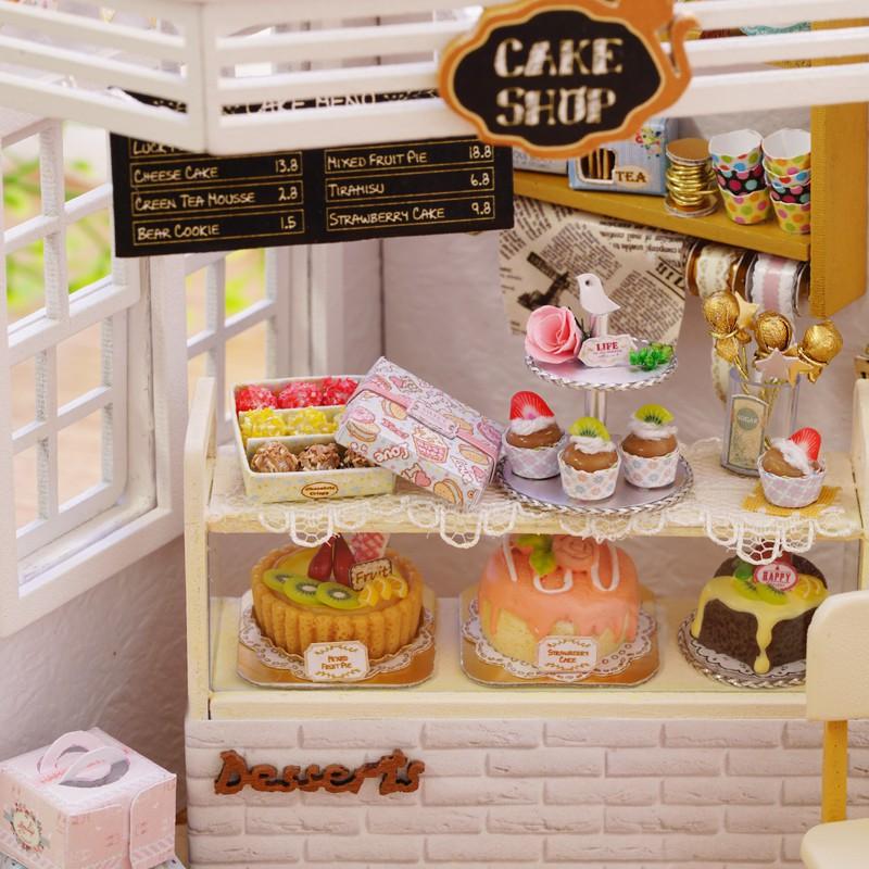 Hàng Mới Nhà búp bê - Cake Diary