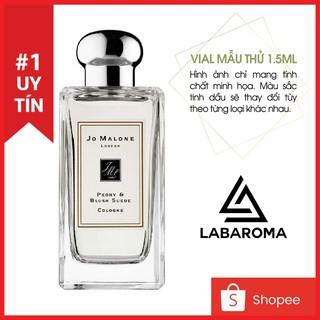 Tinh dầu nước hoa Jo Malone London các dòng vial mẫu thử 1.5ml Thơm phòng, khử mùi, tạo hương cho shop (Hàng nhập khẩu)