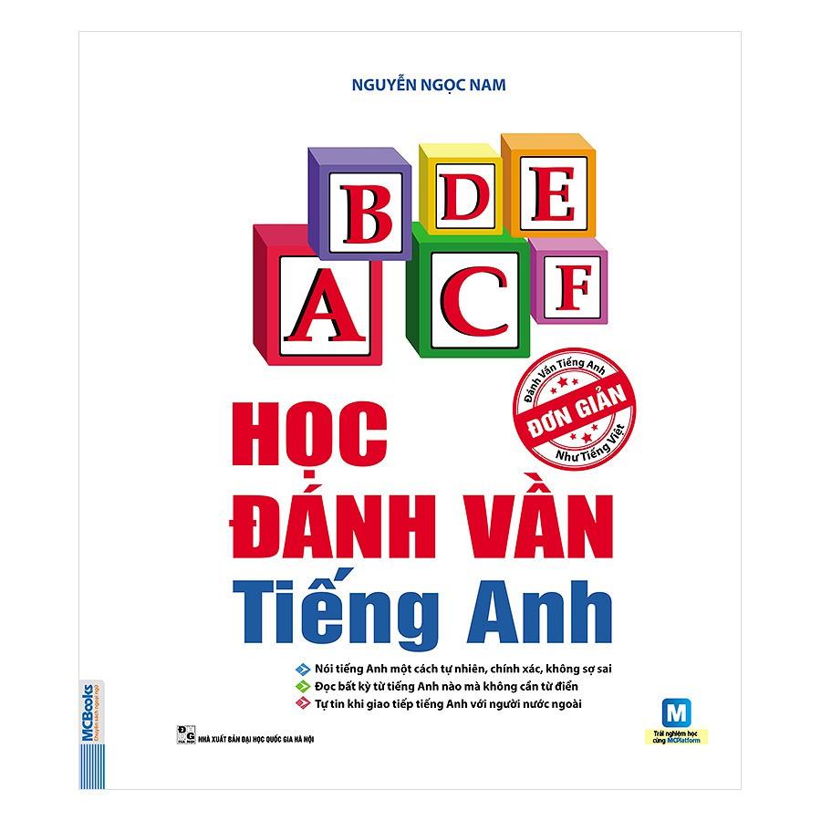 [ Sách ] Học đánh vần tiếng anh - Nguyễn Ngọc Nam