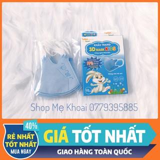 [RẺ NHẤT] Hộp 10 cái-Khẩu Trang cho trẻ em đi học,hàng côngty,kháng khuẩn,chống bụi mịn thumbnail