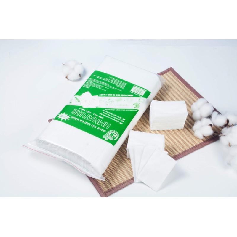 [CHÍNH HÃNG] Khăn khô đa năng, Khăn giấy khô HMNATURE - gói 500gr