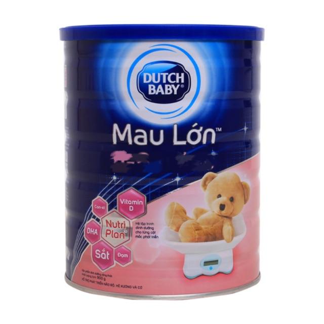 [Nhập MKBCFCV10 giảm 5% đơn 450K] Sữa bột Dutch Lady Mau Lớn 900g