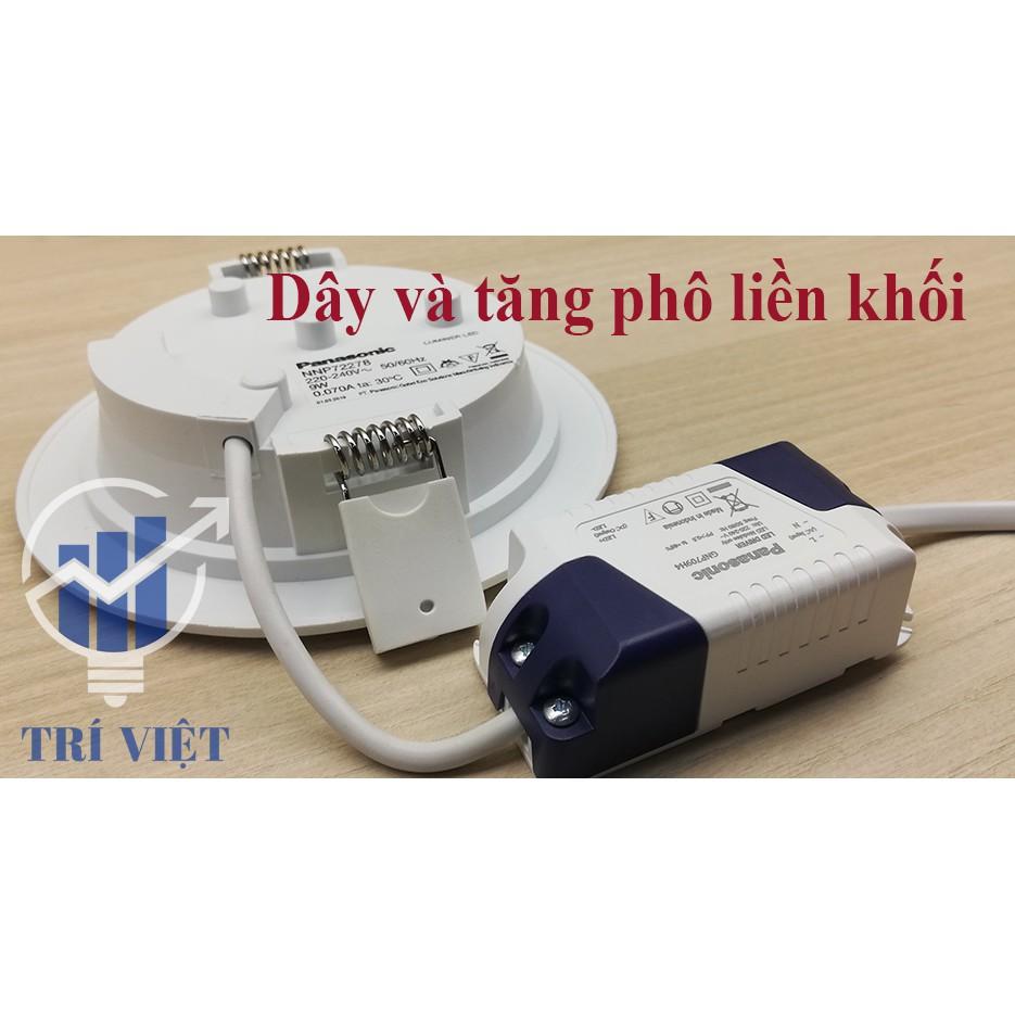 Combo 5 đèn Led âm trần tròn Panasonic 9W NNP72278
