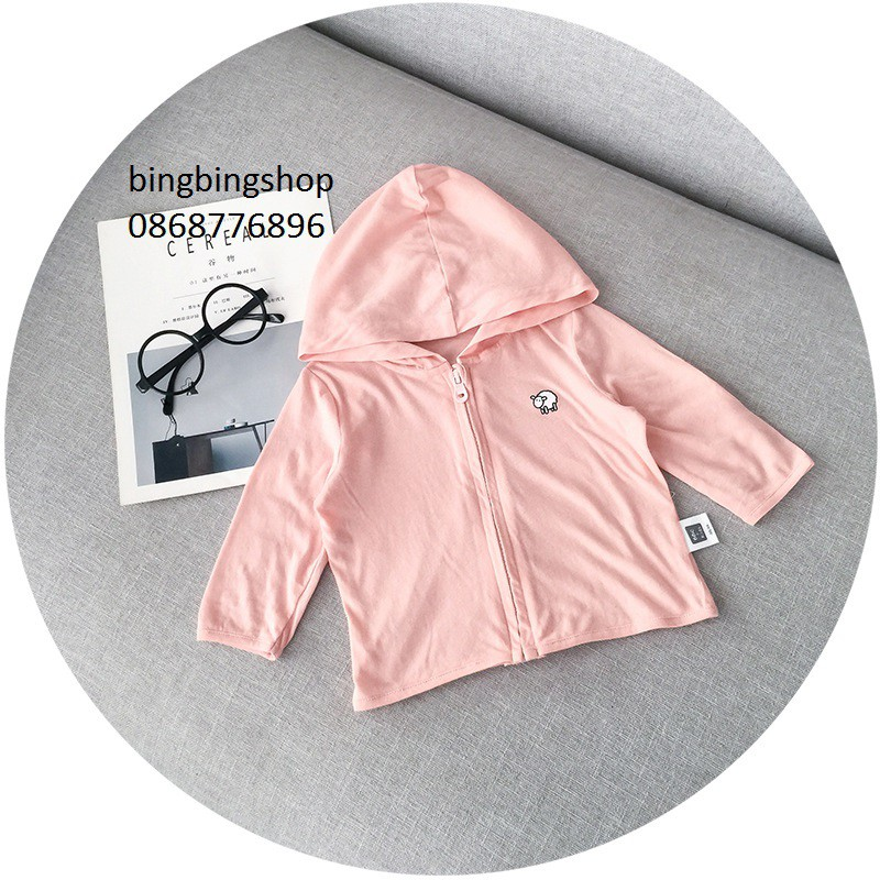 áo nắng hồng