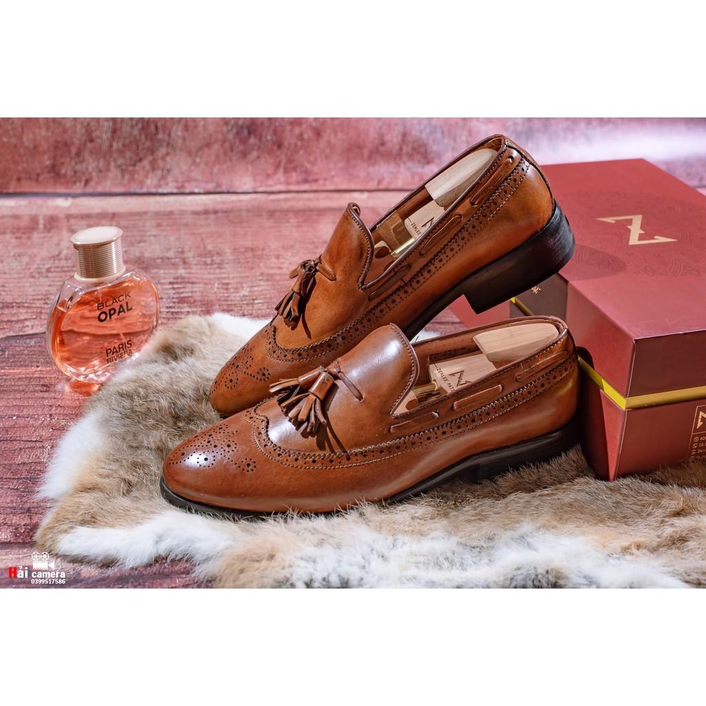 Giày Âu Thủ Công Zenlee patina - Mã:LPC04M2